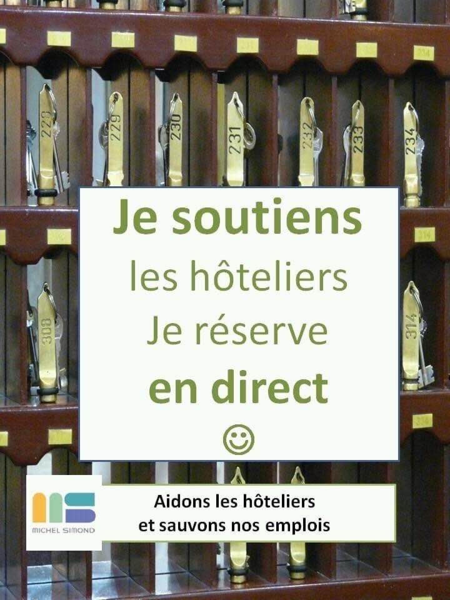 Je soutiens les hôteliers